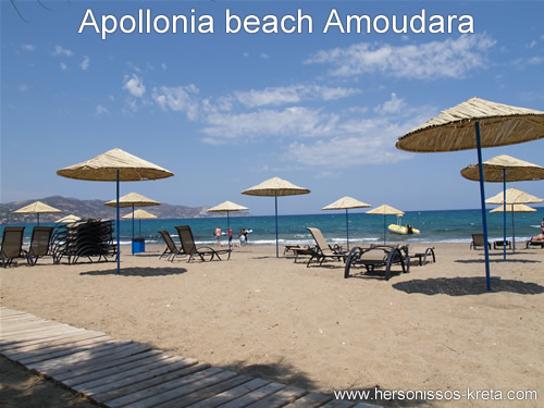 Apollonia Beach Hotel Amoudara Kreta Boekingsinformatie