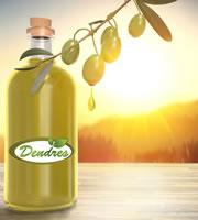 Extra virgin olijfolie van Kreta, Griekenland. Bestel DENDRES olijfolie online via de website.